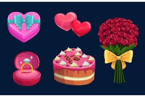 Valentines Day love holiday gifts