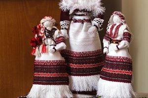 Ukrainian doll motanka. Handmade dol