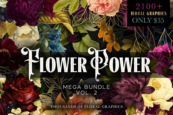 Flower Power Mega Bundle Vol 2
