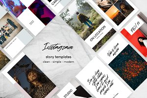 Clean - Instagram Story Templates