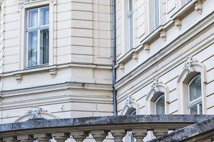 Potocki Palace in Lviv. Baroque