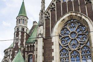 Church of St. Elizabeth in Lviv.