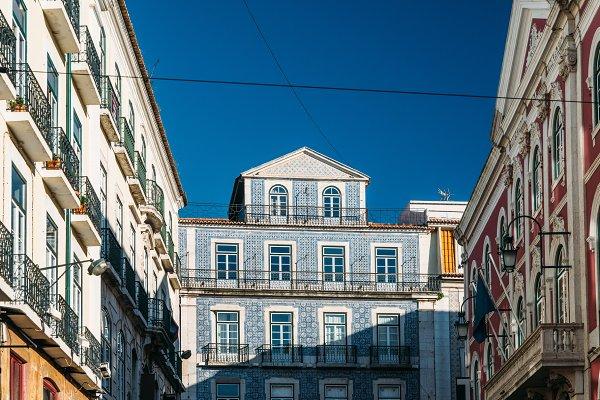 Stock Photos: Alexandre Rotenberg Photo - Portuguese Azulejo buildings