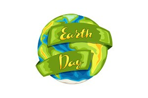 Happy Earth Day card.