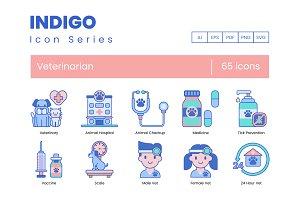 65 Veterinary Icons | Indigo