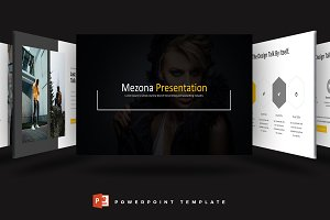 Mezona - Powerpoint Template
