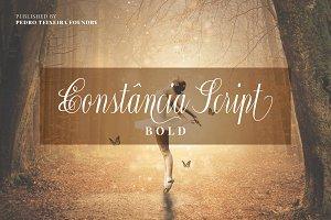 Constância Script Bold