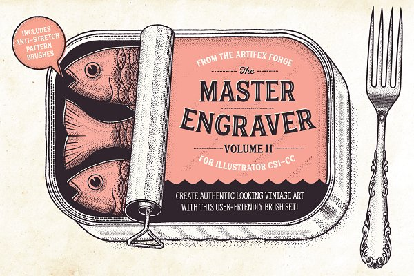 Add-Ons: The Artifex Forge - The Master Engraver - Brushes
