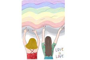 Valentine's Day - Pride - Couple
