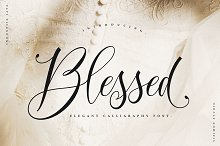 Blessed Scipt Font!