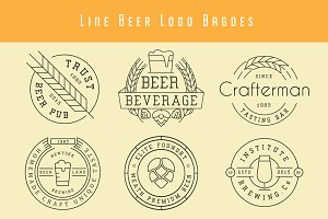 Beer Badges And Logos
