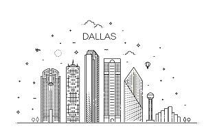 Dallas Linear Skyline