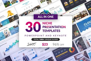 All In One 30 Presentation Template