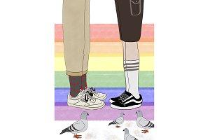 Valentine's Day - Pride Couple