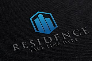 Residence | real estate logo
