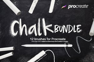 Chalk bundle for Procreate