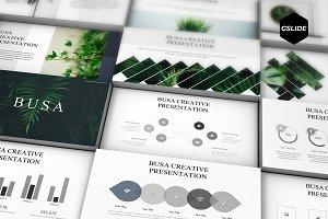 Busa -  Google Slides Template