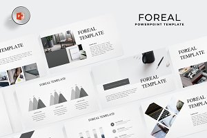Foreal - Powerpoint Template