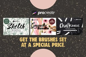 Brushes Bundle for Procreate
