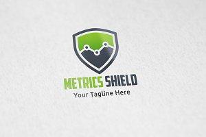 Metrics Shield - Logo Tempalte