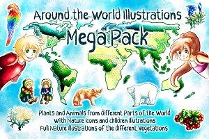 Around the World Mega Pack