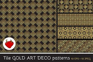 Seamless luxury gold pattern