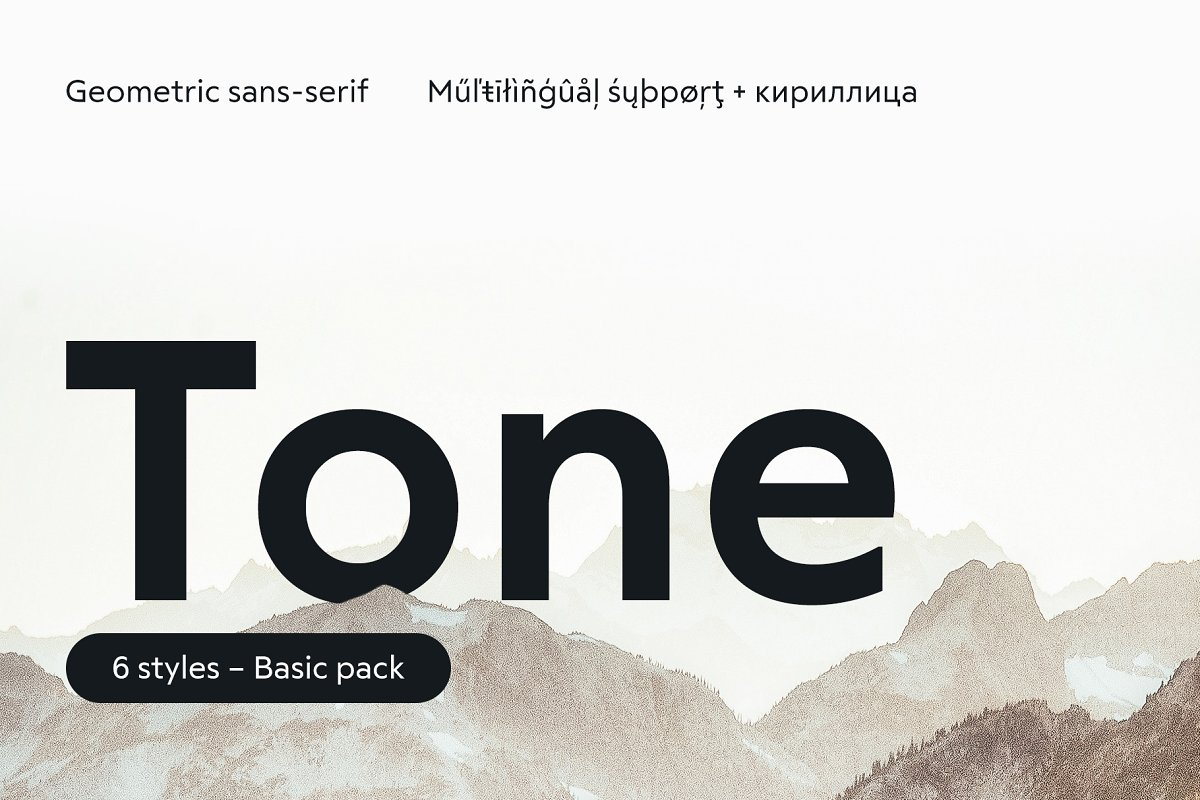 RF Tone – Basic pack ~ Sans Serif Fonts ~ Creative Market