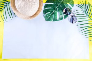 Colorful summer vacation and holiday