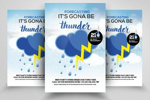 Weather Sheet Flyer Templates