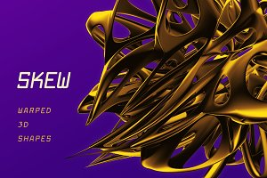 Skew: 105 Warped 3D Shapes