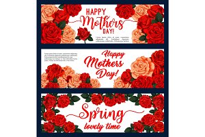 Happy Mother Day banners