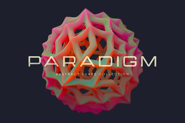 Graphic Objects: RuleByArt - Paradigm Abstract Shapes