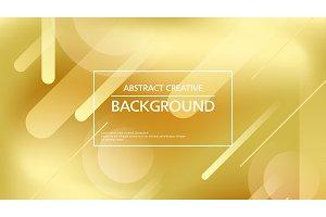 Shining golden abstract backdrop