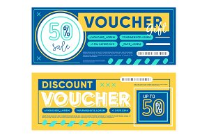Vouchers for 50% discount