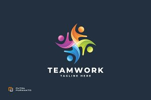 Teamwork - Logo Template