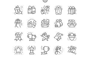 Rewards  Line Icons