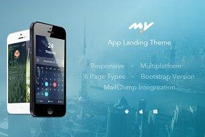 MyApp - Responsive App Landing Theme