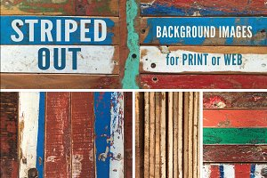 STRIPED OUT: 10 Background Images