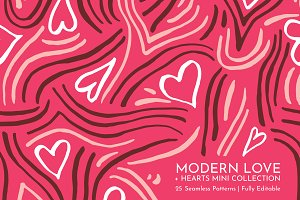 Modern Love | Seamless Patterns
