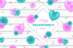 Valentines Day Greeting design