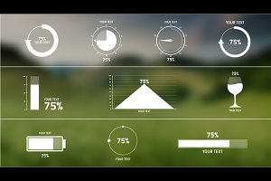 Percentage Infographic After Effects