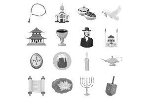Judaism church traditional symbols