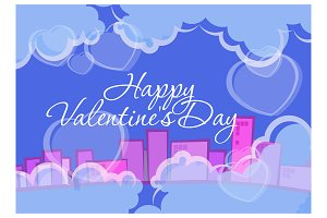 Valentine's Day. Background abstract