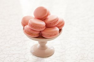 Bowl of macarons