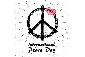 International Peace Day Logo with