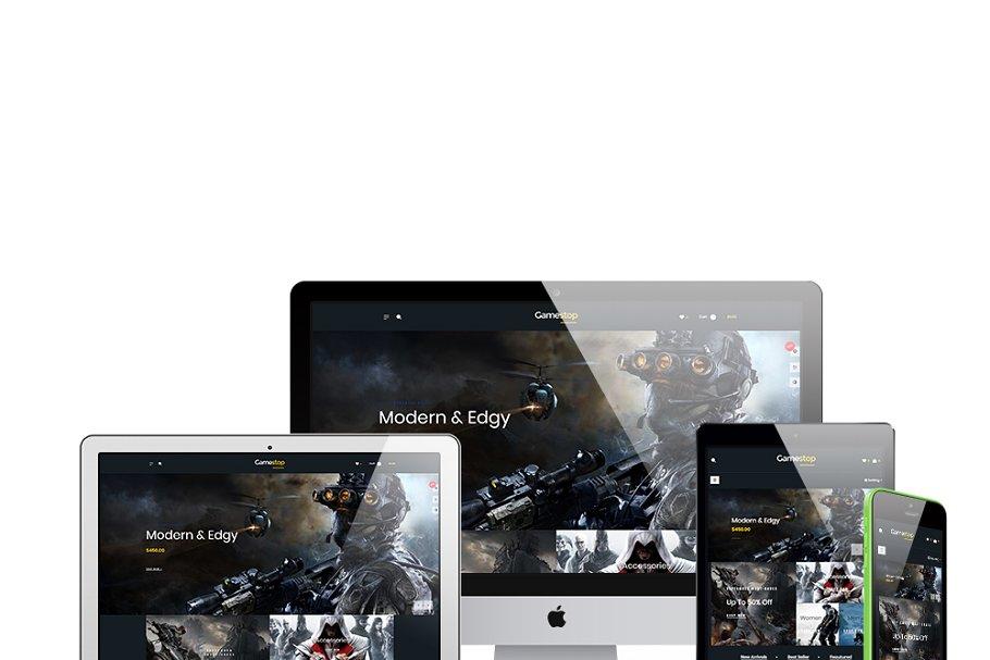 Leo Gamestop - Games Store Prestasho in Website Templates