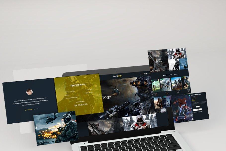 Leo Gamestop - Games Store Prestasho in Website Templates - product preview 2