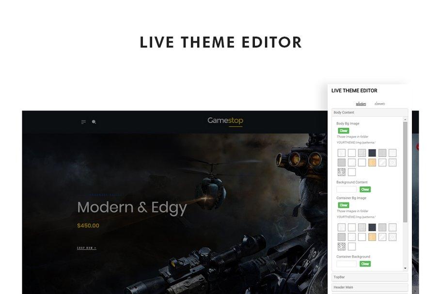 Leo Gamestop - Games Store Prestasho in Website Templates - product preview 3