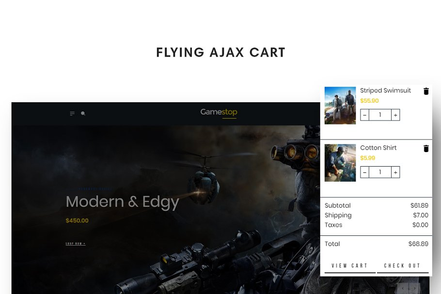 Leo Gamestop - Games Store Prestasho in Website Templates - product preview 7