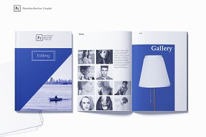Editing Photoshop Brochure Template